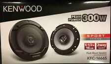 Kenwood KFC-1666S 6.5 inch 300W 2 Way Sport Series Coaxial Speaker - Black
