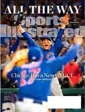 Sports Illustrated November 14, 2016 Chicago Cubs ANTHONY RIZZO, KRIS BRYANT NEW