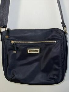Calvin Klein Belfast Nylon Crossbody Bag Navy Black