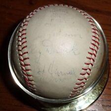 1953 St. Paul Saints ~ Team Signed American Association Ball (Brooklyn Dodgers)