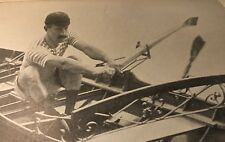 Rowing Crew London Vintage 1898 Skulling Henley Regatta Cambridge Oxford