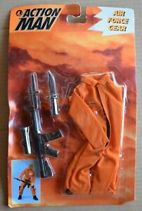 Action Man Hasbro Carded Unopened Boxed AIR FORCE GEAR 1995 Accessories