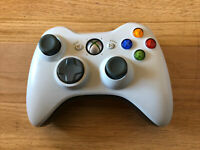 Original Microsoft Xbox 360 Wireless Remote Controller White OEM Used Tested