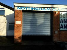 Garage Shop Electric Galvanised Roller Shutter Doors Roller Door - all sizes