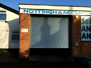 Galvanised High Security Steel Commercial Security Roller Shutters Made to order