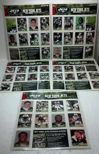 New York Post Sticker collection 2004 NY Jets on original sheet unused