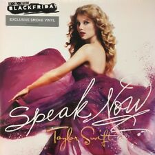Taylor Swift Speak Now LP Vinyl Europe Big Machine 2010 Black Friday Numbered