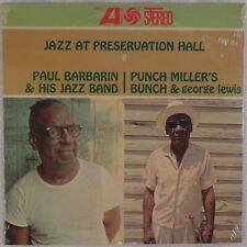 PAUL BARBARIN, PUNCH MILLER, GEORGE LEWIS: Jazz at Preservation Hall SEALED LP