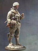 1/16 120mm Resin Figure Model Kit German Soldier Paratrooper WWII WW2 Unpainted
