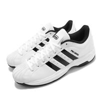 adidas Pro Model 2G Low White Black Men Women Unisex Basketball Shoes FX4981
