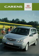 Prospekt Kia Carens 2 05 2005 Autoprospekt Broschüre Auto PKWs brochure brosjyre