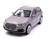 Audi Q7 SUV Model Car Gray Silver Scale 1:3 4 (Licensed)