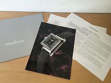 Press Release JAEGER LeCOULTRE - Reverso Duetto Classique Ref. 256 84 01 - ESP