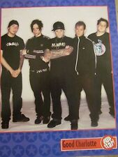 Good Charlotte, Ashton Kutcher, Double Full Page Pinup