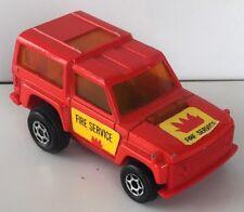 Majorette Motor Range Rover Fire service vintage