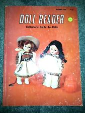 DOLL READER Nov 1982 VINTAGE BOOK Dydee COLLECTOR'S GUIDE TO DOLLS & MINIATURES