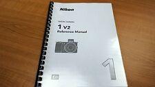 Nikon 1 V2 Fotocamera stampato Manuale di Istruzioni User Guide 236 pagine A5