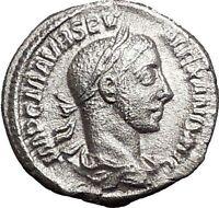 SEVERUS ALEXANDER 226AD Silver Ancient  Roman Coin ANNONA Wealth i55709