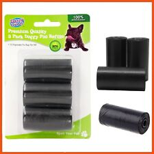 360 X BLACK DOG PET POO BAGS - REFILL ROLL, BPA