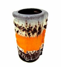 Beautiful 60´s duemler & BREIDEN * relief * céramique vase design pottery 1960´s