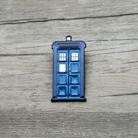 Doctor Who TV Show Tardis Booth Enamel Pin Backpack Badge Brooch Lapel Pins
