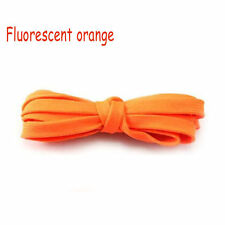 1 pair Fluorescent Orange Shoe Lace Shoelaces Sneaker Boots Good-looking 110cm