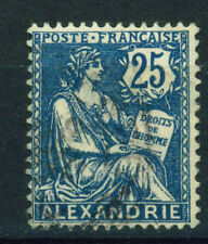 France Office in Alexandria Egypt 1902 classic stamp