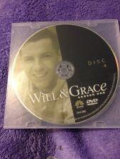 Will & Grace - Season 1 Disc 4 DVD, 2003, LIKE NEW