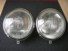 BOSCH HEADLIGHTS SCHEINWERFER HEAD LIGHTS FITS PORSCHE 356 & VW KÄFER LAMPS NOS