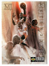 Michael Jordan 1994 Collector Choice HERO DECADE OF DOMINANCE CHECKLIST Card