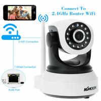 KKmoon Wireless WiFi 720P CCTV IP Camera P2P 2-Way Audio 8 PTZ Preset +APP R5Q6