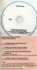 EUROVISION 2004 Suisse : Piero & The Music StarsPROMO CDR 4-TRACK - Celebrate