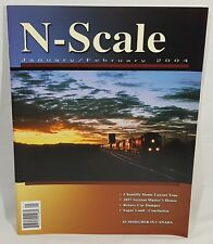 N - Scale Magazine Back Issue January February 2004 Chantilly Home Layout Tour