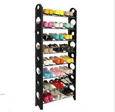 10 Tier 30 Pairs Tower Shoe Tower Rack Organizer Space Saving Shoe Racks