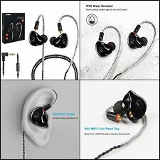 Earphones in-Ear Monitors Wired Earbuds Headphones Headset Dual