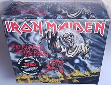 Iron Maiden Number of The Beast (deluxe Edition) CD With Figurine