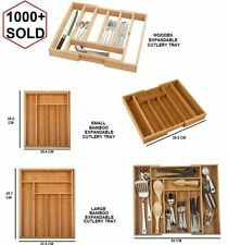 Articles de rangement en bois pour les couverts de cuisine