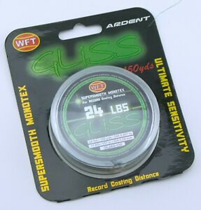 Ardent WFT Gliss Supersmooth Monotex Fishing Line 24lbs 150yds Green