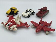 Vintage G1 Transformers Minibot Lot Bumblebee Warpath Tailgate Powerglide Strafe
