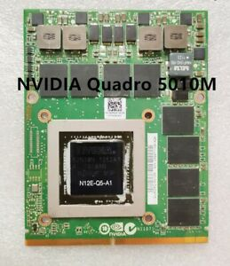 Dell Precision M6600 Nvidia Quadro Q5010M 4GB  K9MWW 5PGK8 Video Card N12E-Q5-A1