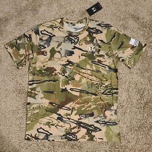 XL Under Armour UA Freedom Camo T-Shirt Barren Camo 1362780-999 Men's