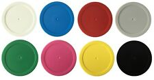 100pc Blank Poker Chips Roulette Casino Board Game Counter Event Token 8 Colours