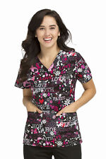 {LG} Women's Peaches Medical Uniforms Faith & Love Anna Top (9424FTLV)
