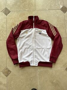 Adidas Russia National Football Team Full Zip Warm Up Track Jacket Size Medium