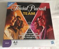 Trivial Pursuit Team Game New Sealed Hasbro Adult 2 Teams 2009