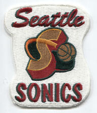 1995-2000 Seattle Supersonics NBA Basketball 9.2cm Team Logo Abzeichen