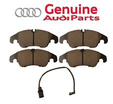 For Front Disc Brake Pad Set with Shims & Sensor Genuine for Audi A6 A7 Quattro