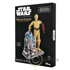 Metal Earth - R2-D2 C-3Po Box Gift Set - Star Wars Novelty Gift Item