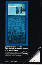 PUBLICITE ADVERTISING 045  1969  PELTEX  tapis de bain PELFRAM