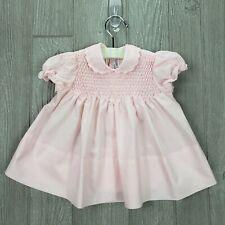 Vintage Baby Togs A Little Angel 6-9 Months Girls Delicate Pink Smocked Dress